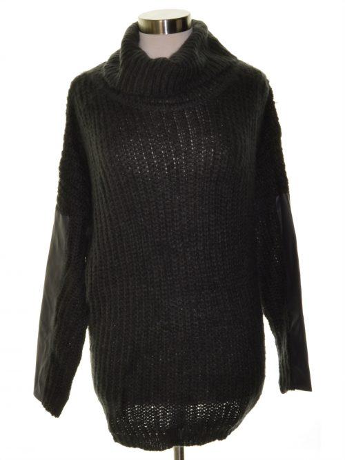 Soloiste Juniors Size Medium M Grey Pullover Sweater