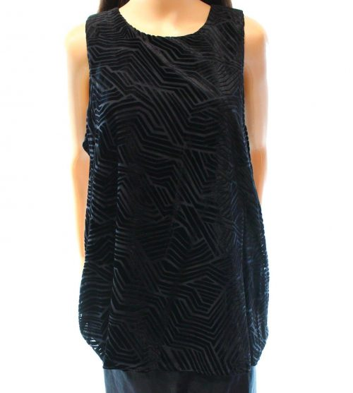Alfani Women Size 10 Black Tank Top