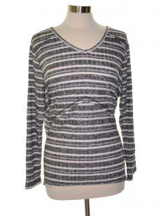 Style & Co. Women Size XXL Black Knit Top