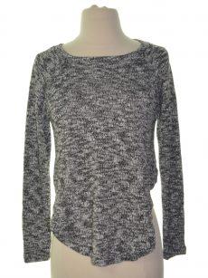 Chelsea Sky Women Size Large L White Crop Sweater