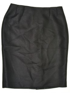 Kasper Women Size 4 Black Pencil Skirt