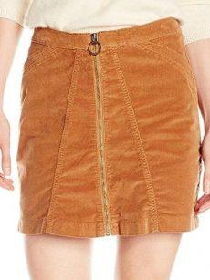Buffalo Jeans Women Size 31 Brown Mini Skirt