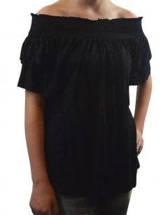 INC Women Size XS Black Blouse Top
