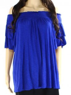 INC Women Size Small S Royal Blouse Top