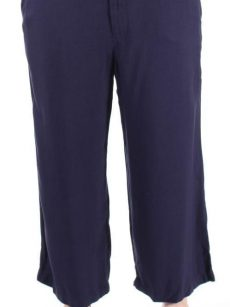 Tommy Hilfiger Women Size 4 Navy Capris Cropped Pants