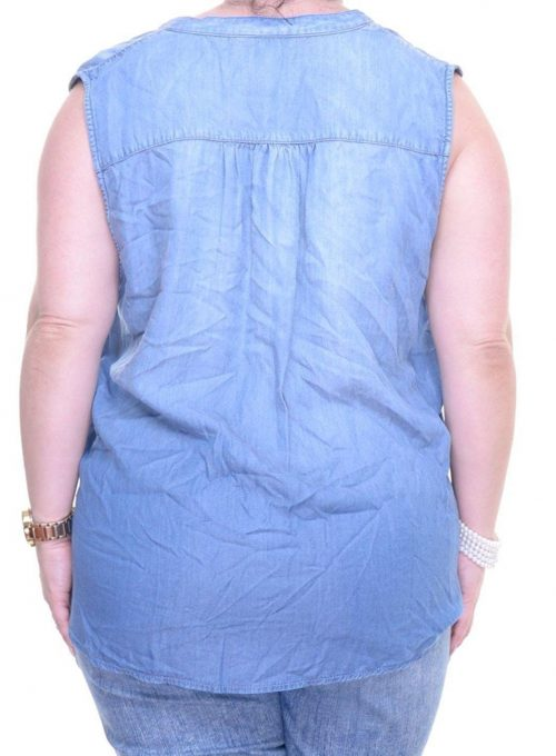 INC Women Size Small S Blue Pullover Top