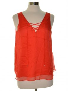 Rachel Roy Women Size Medium M Red Tank Top