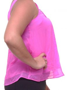 Rachel Roy Women Size Medium M Pink Tank Top