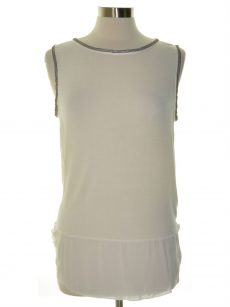Sanctuary Women Size Large L White Tank Top