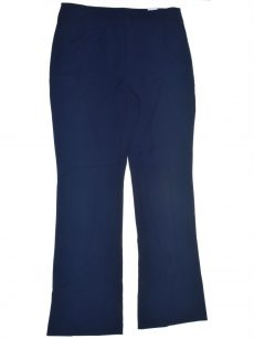 Bar III Women Size 10 Navy Blue Flare Pants