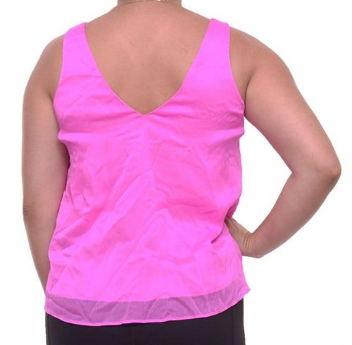 Rachel Roy Women Size Medium M Pink Tank Top