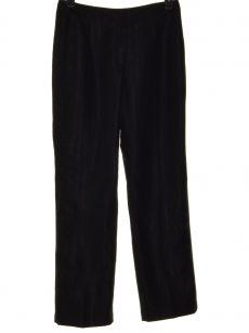Le Suit Women Size 6 Black Straight-Leg Pants