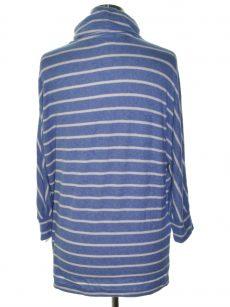 Maison Jules Women Size Medium M Pastel Blue Casual Sweater