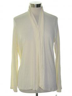 Bar III Women Size Medium M Ivory Cardigan Top