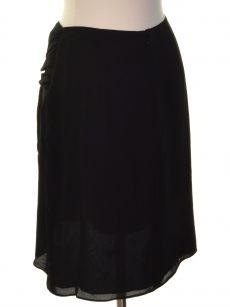 Bar III Women Size 6 Black A-Line Skirt
