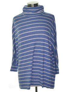 Maison Jules Women Size Small S Pastel Blue Casual Sweater