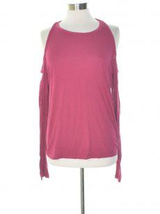 Chelsea Sky Women Size Medium M Sangria Knit Top
