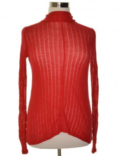 Lucky Brand Women Size Large L Red Pullover Sweater