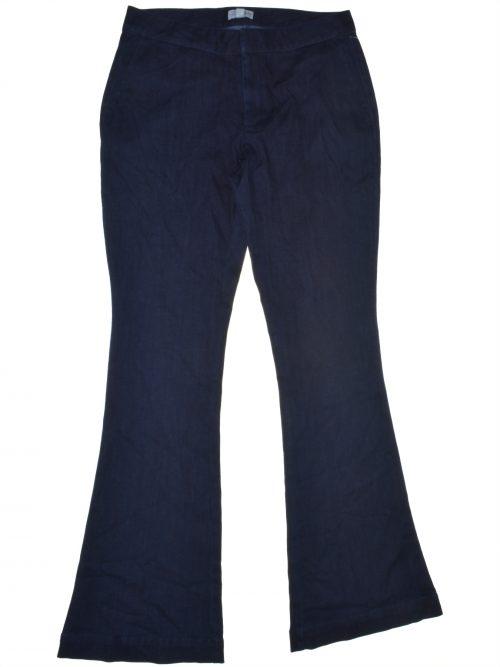 Maison Jules Women Size 4 Blue Flare-Leg Jeans