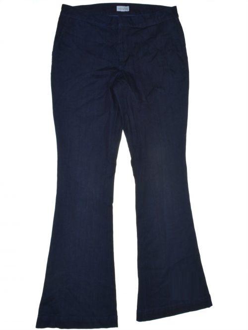 Maison Jules Women Size 6 Blue Flare-Leg Jeans
