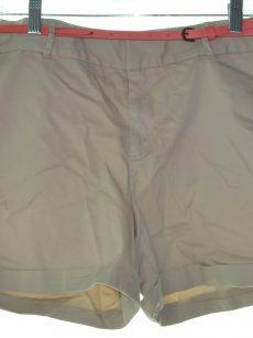 Maison Jules Women Size 8 Beige Shorts Shorts Pants