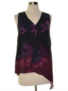 Rachel Roy Women Size XS Black Blouse Top