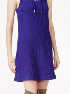 Kensie Women Size Small S Violet A-Line Dress