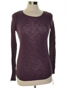 Maison Jules Women Size XS Purple Crewneck Top