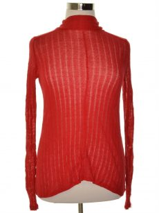Lucky Brand Women Size XS Red Pullover Sweater