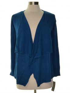 Thalia Sodi Women Size Small S Dark Blue Cardigan Sweater