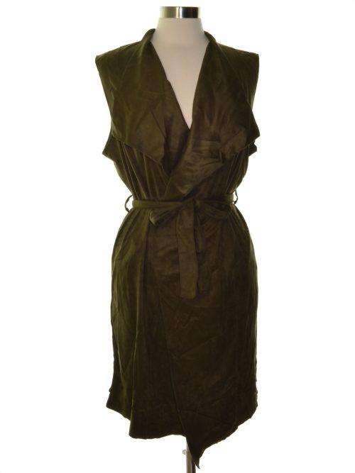 Grace Elements Women Size XL Green Vest