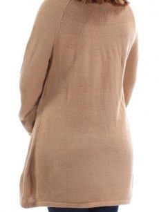 Style & Co. Women Size Small S Tan Scoop Neck Sweater