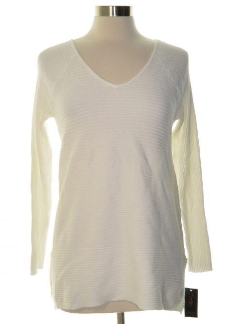 Thalia Sodi Women Size Small S Off White Sweatshirt Sweater