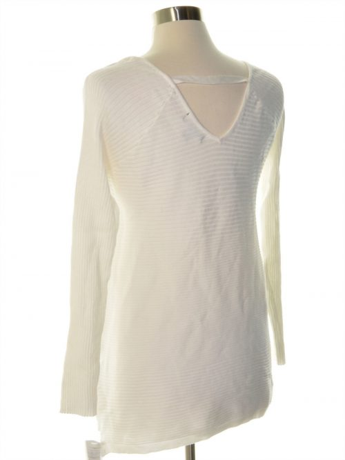 Thalia Sodi Women Size Large L Off White Sweatshirt Sweater