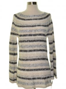 Style & Co. Women Size XL White Knit Sweater
