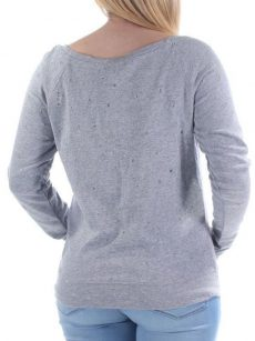 Bar III Women Size XS Light Gray Sweatshirt Sweater