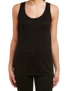 Anne Klein Women Size Small S Black Tank Top