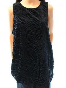 Alfani Women Size 12 Black Tank Top