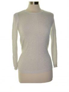 Alfani Petites Size PXL Silver Pullover Top