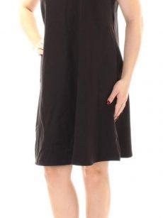 Chelsea Sky Women Size Medium M Black A-Line Dress