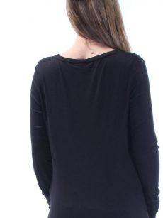 Bar III Women Size Medium M Black Pullover Top
