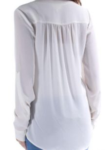 Maison Jules Women Size XS Ivory Blouse Top