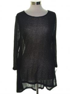 Alfani Women Size Small S Black Pullover Sweater