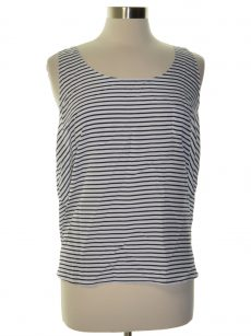 Maison Jules Women Size XXL White Pullover Top