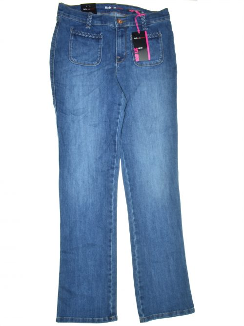 Joe's Jeans Women Size 4 Blue Boot-Leg Jeans