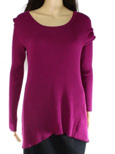 Style & Co. Women Size XL Purple Pullover Sweater