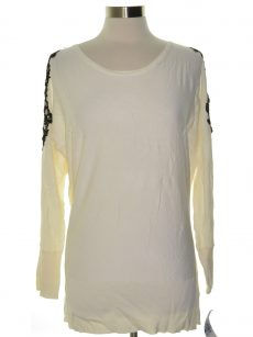 Thalia Sodi Women Size XL Ivory Tunic Sweater