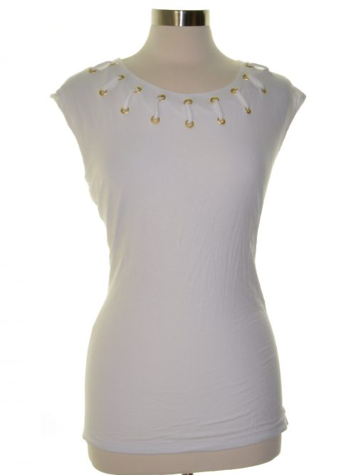 INC Petites Size PS White Casual Top