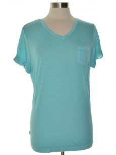 Style & Co. Petites Size PL Light Blue Pullover Top