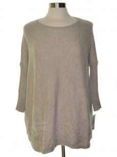 Style & Co. Petites Size PL Beige Pullover Sweater